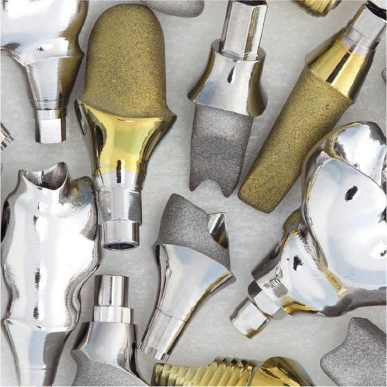 Piliers implantaire personnalisés